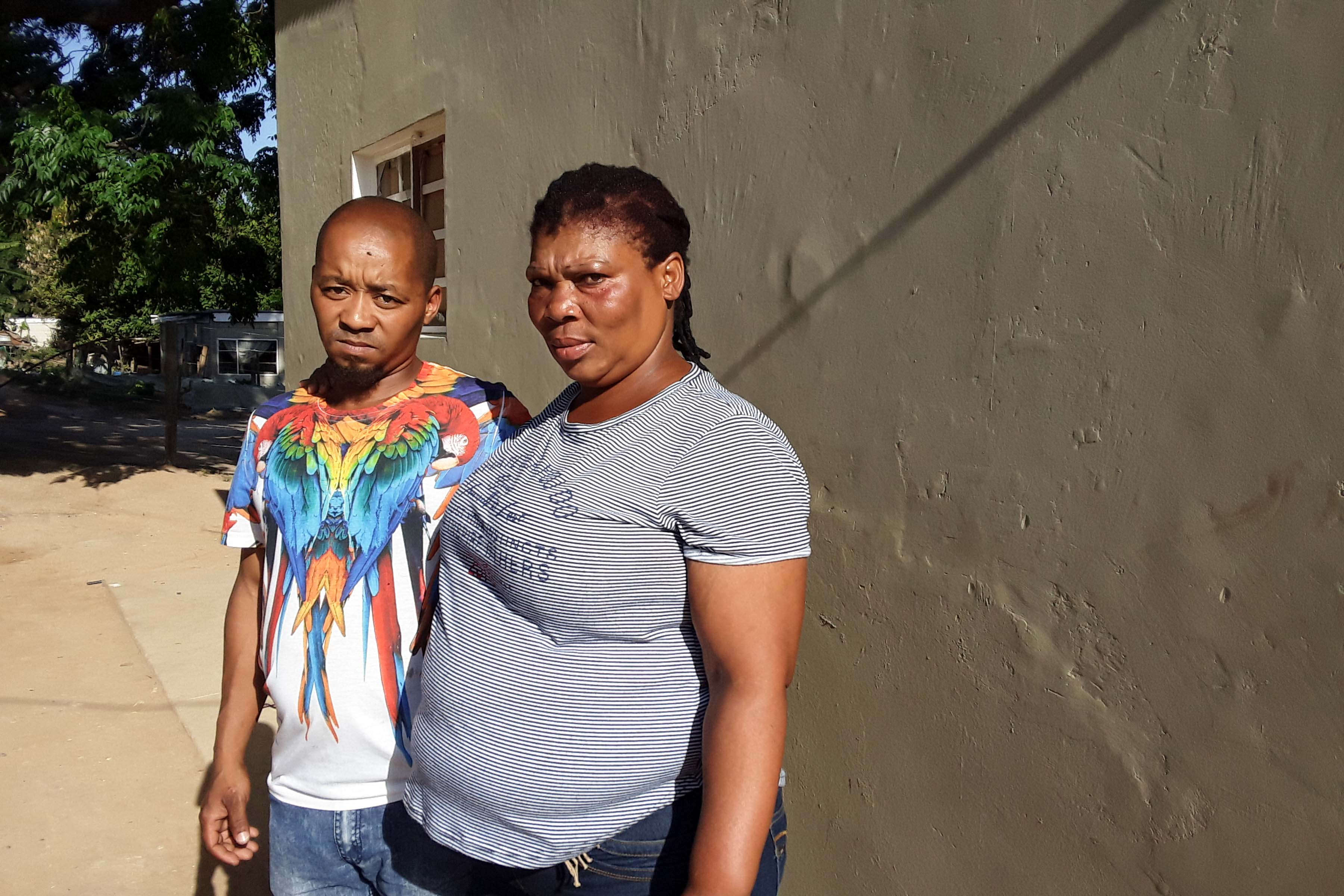 28 November 2019: Wayne Piedt and his partner Priscilla Dayi face eviction from this house, because Piedt was dismissed from his job.