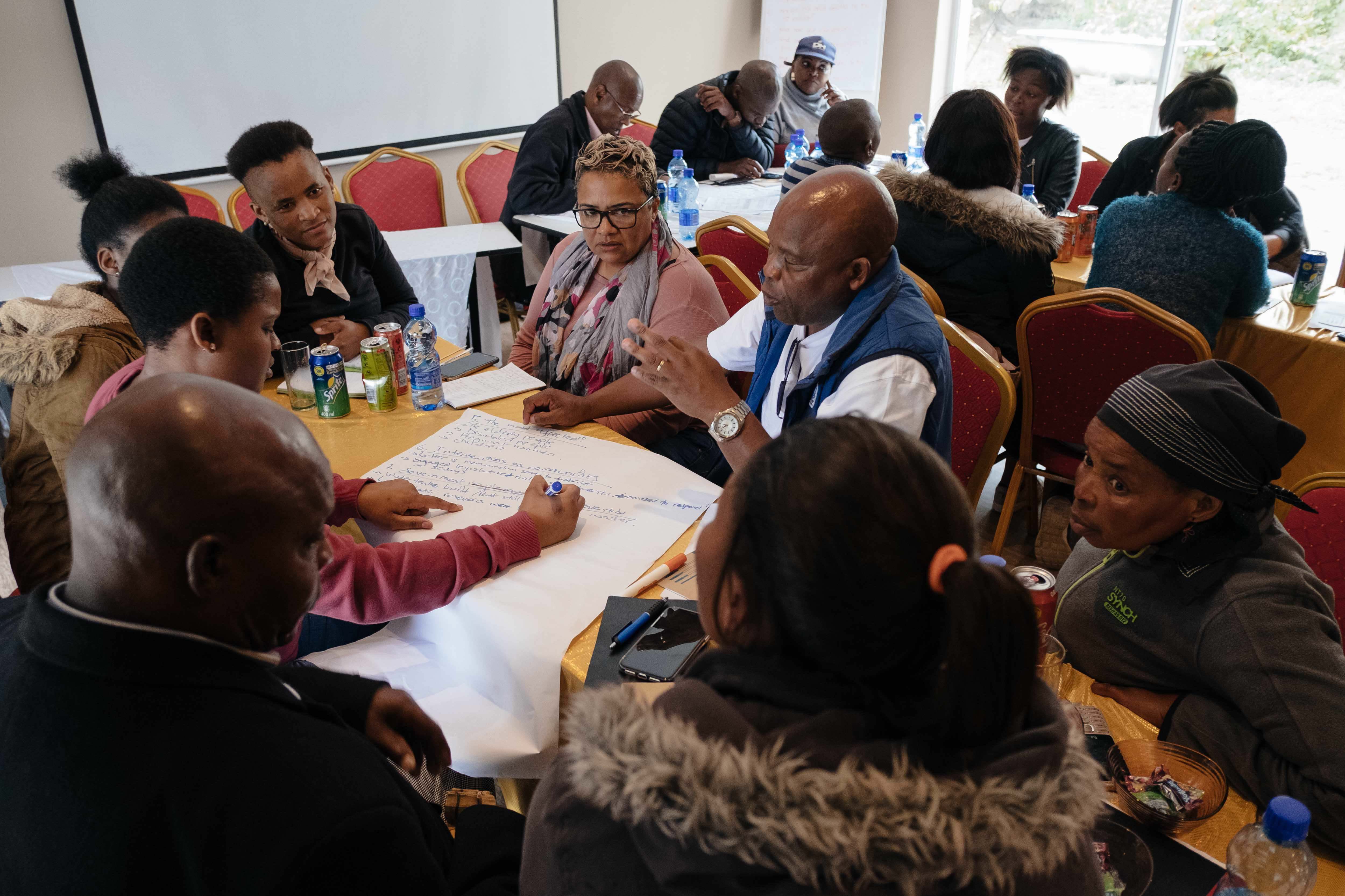 11 November 2019: Activists formed focus groups to share their experience, discuss problems on the ground and map out a plan of action to take back to their communities.