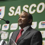 2 February 2019: Sascoc president Gideon Sam's race is almost certainly run ahead of elections next year. (Photograph by Wessel Oosthuizen/Gallo Images)