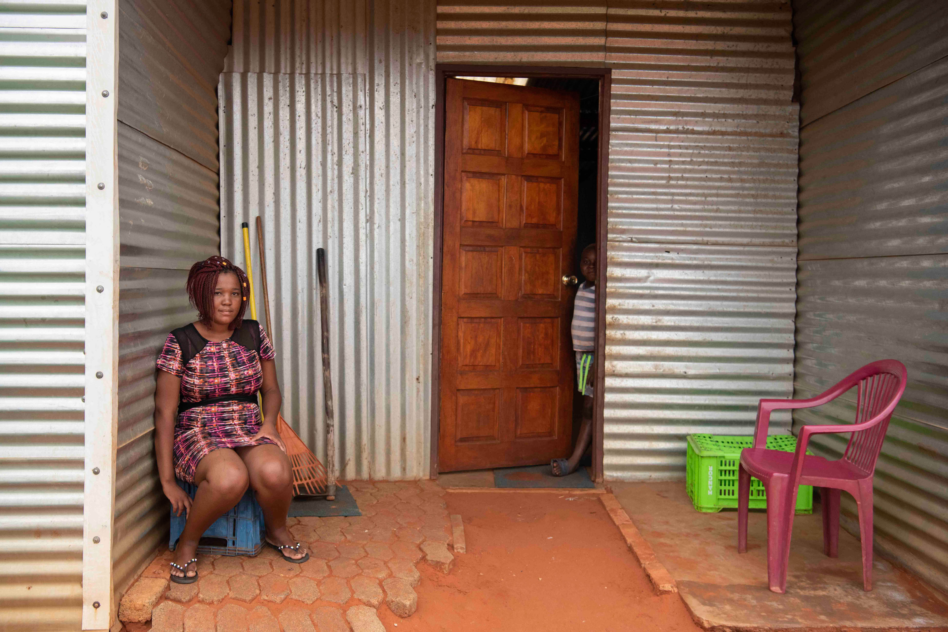 8 January 2020: Regina Dikuwa aspires to be a doctor, but her family cannot afford the tuition fees. She plans to attend the ANC's 108th anniversary celebrations in Kimberley.