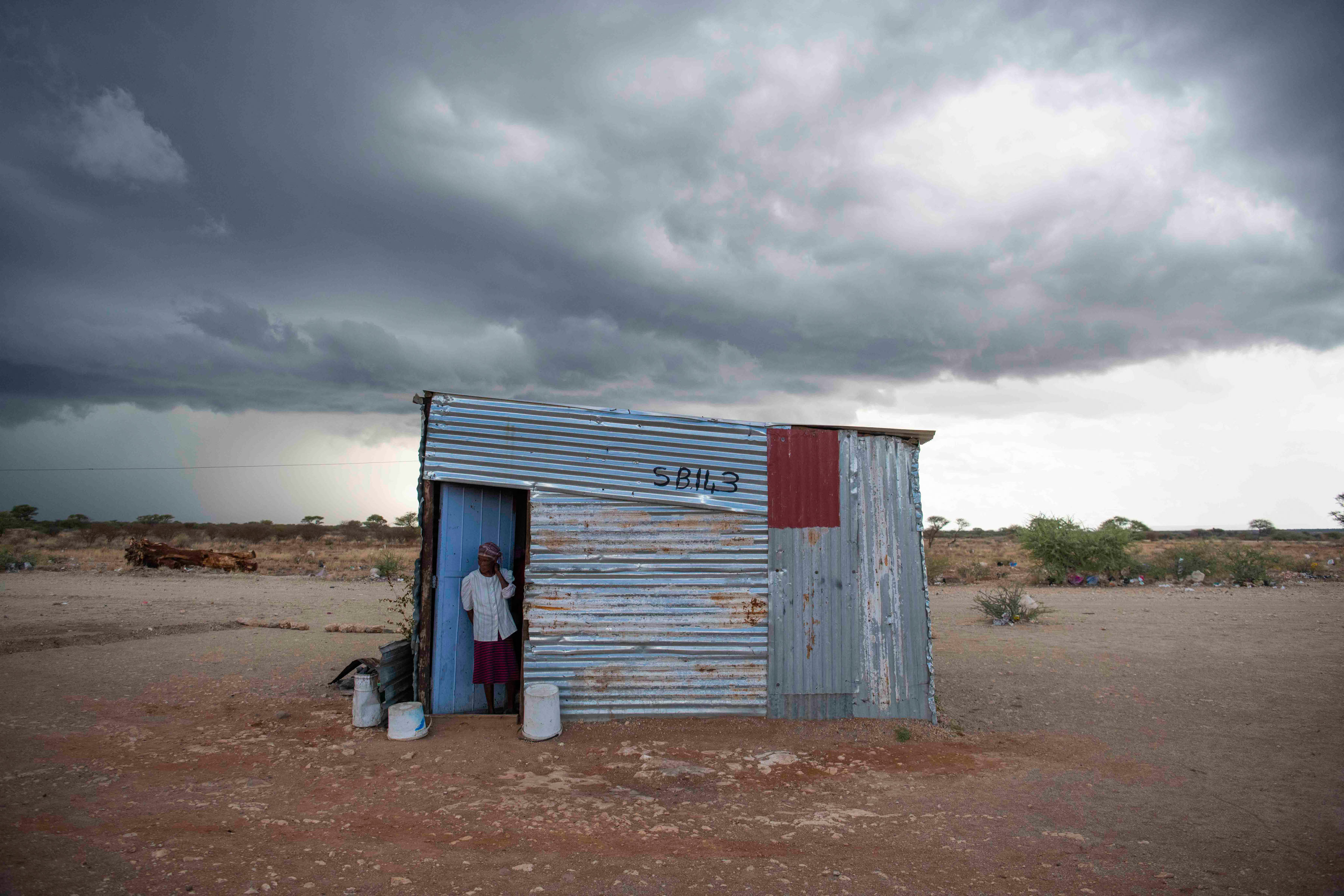 8 January 2020: Anna Adams is a resident of Selfbou, a settlement outside Douglas that has no municipal services.