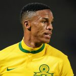 2 February 2016: Thabo Nthethe during an Absa Premiership match between Mamelodi Sundowns and Chippa United in Tshwane, South Africa. He has not played professionally for a year owing to injury.