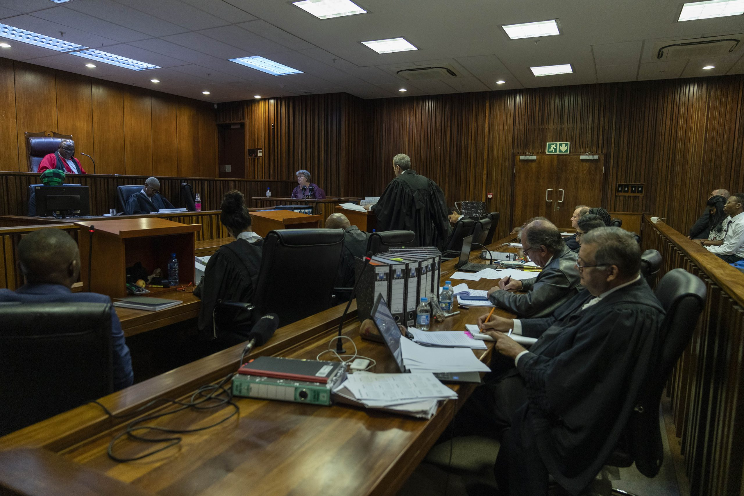 29 January 2020: A former minister of public enterprises and minister of health, Barbara Hogan gave evidence at the reopened inquest into Neil Aggett's death at the Johannesburg high court.