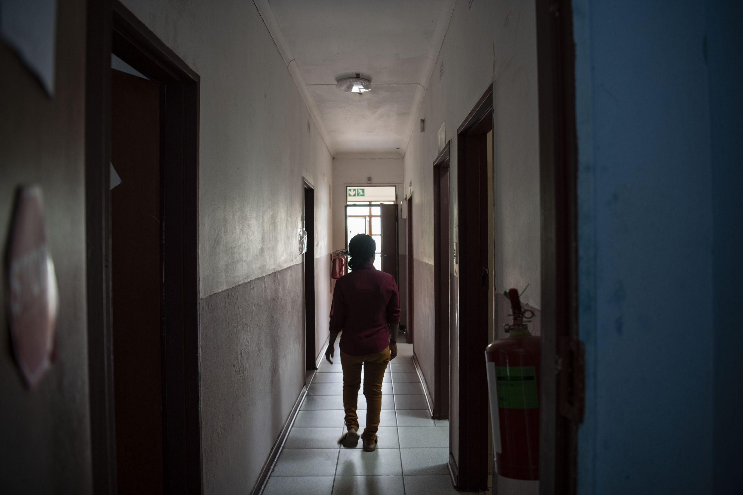 13 December 2019: Women at the shelter are often the victims of human trafficking.