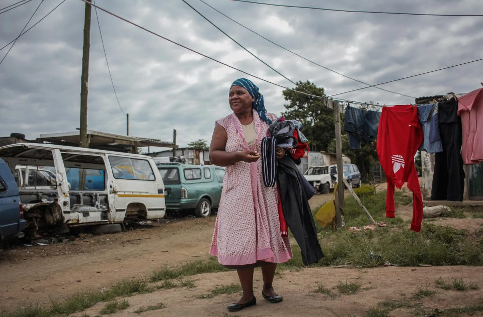 22 January 2020: Elsie Mthembu has lived in Lindelani since 1983. She sells snacks from her home to earn a living.
