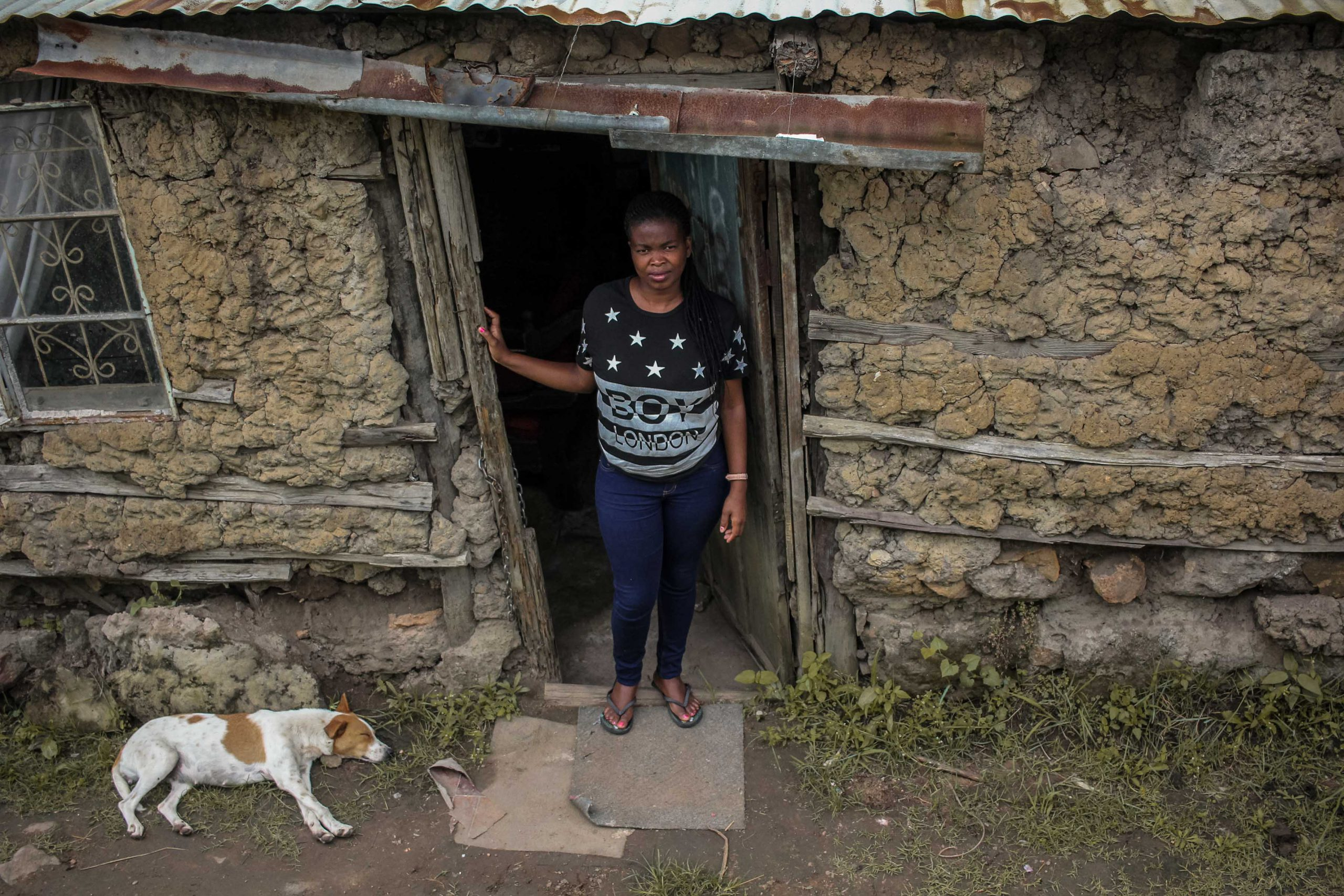 22 January 2020: Zama Mngadi is a full-time carer for her mother, who had a stroke in 2017. She says her dreams and aspirations have been destroyed, and she lives in fear of their house collapsing.