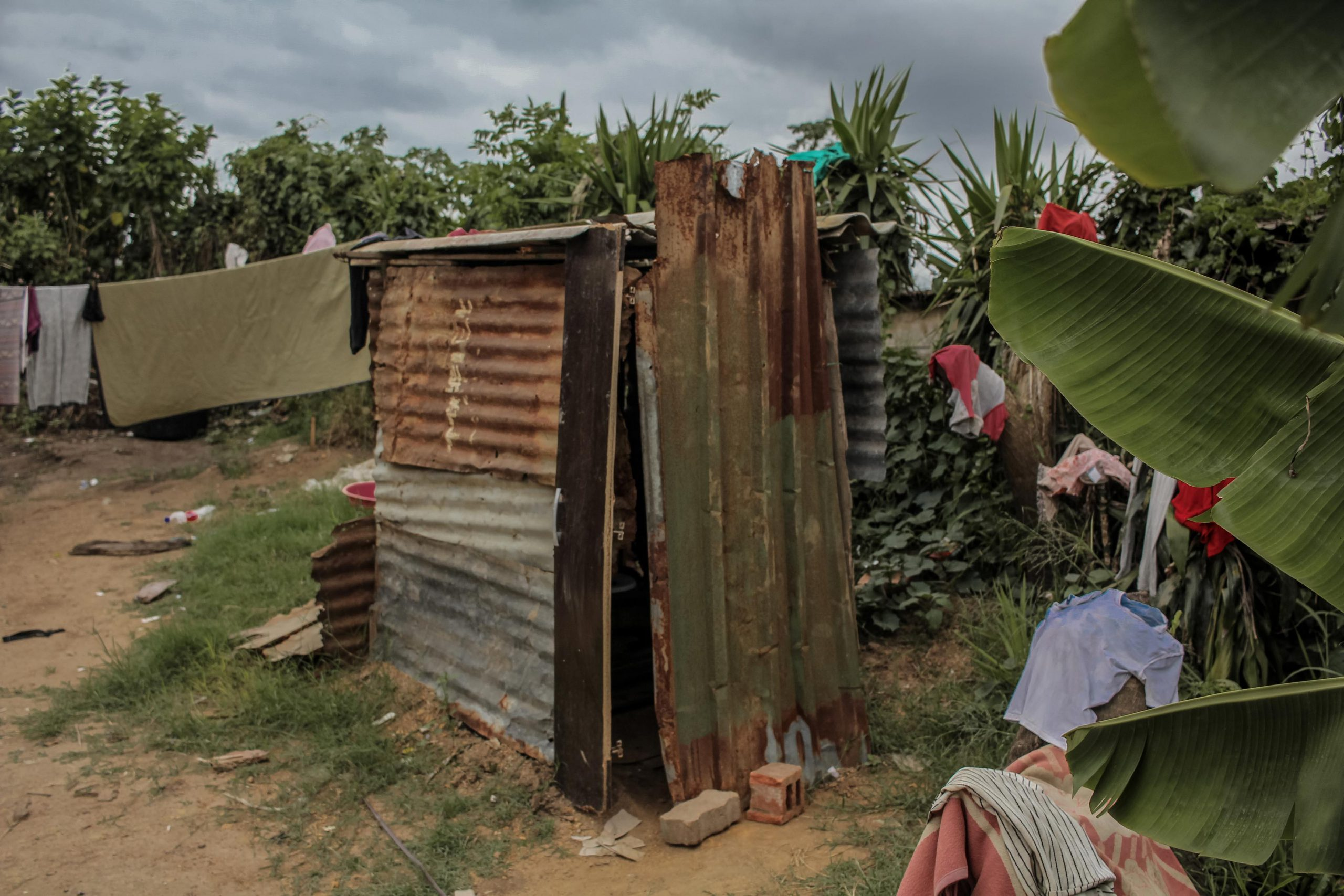 22 January 2020: Lindelani residents are still reliant on pit toilets.