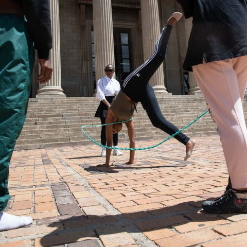 14 November 2019: In an attempt to help preserve indigenous knowledge production systems, a third-year student held an Indigenous Games Day at Wits University.