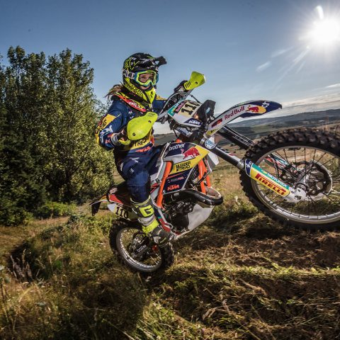 Undated: Kirsten Landman survived a life-threatening accident to become the first African woman to take on the Dakar Rally, which began on 5 January. (Photograph courtesy of www.kirstenlandman.com)