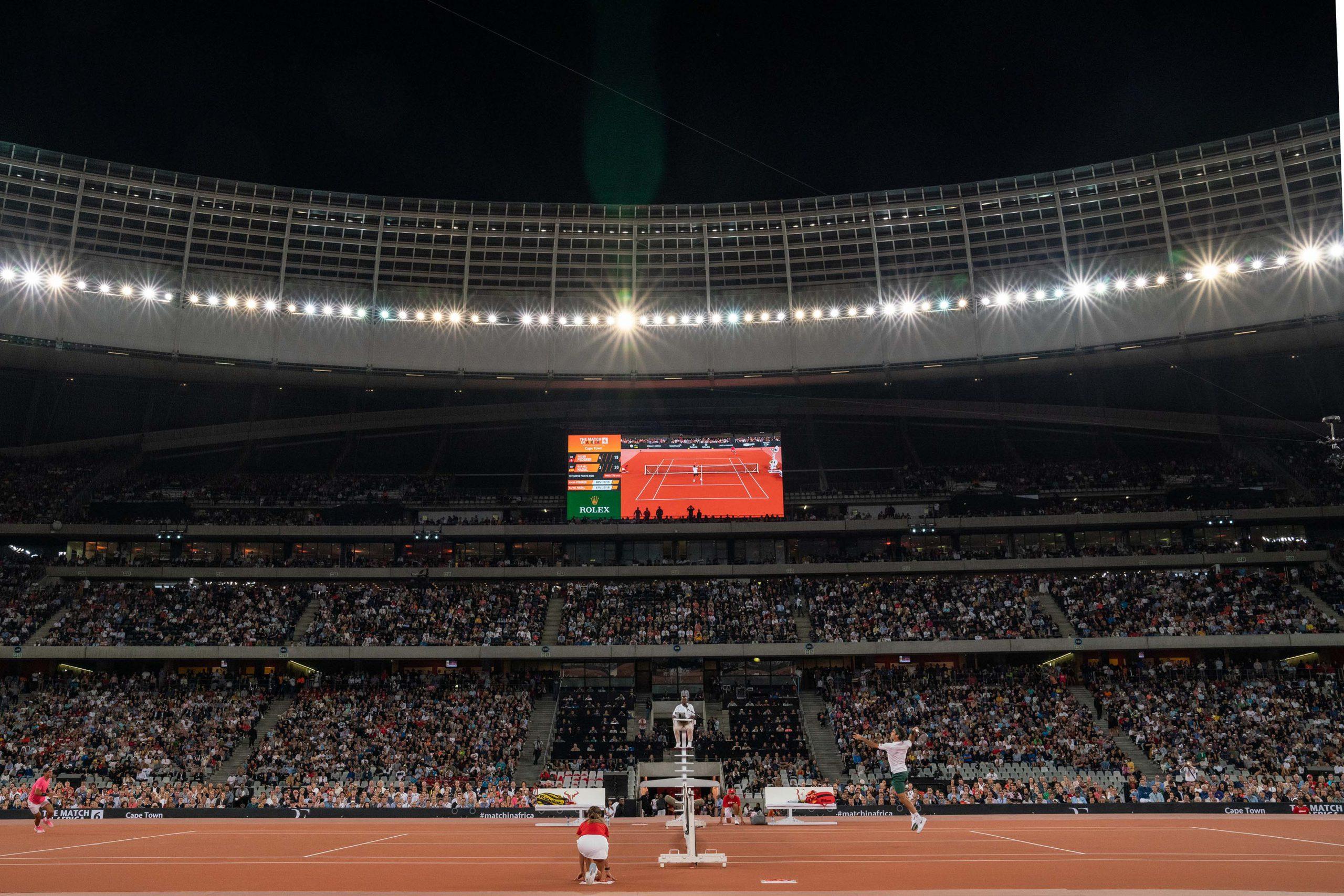 7 February 2020: Roger Federer beat Rafael Nadal in three sets.