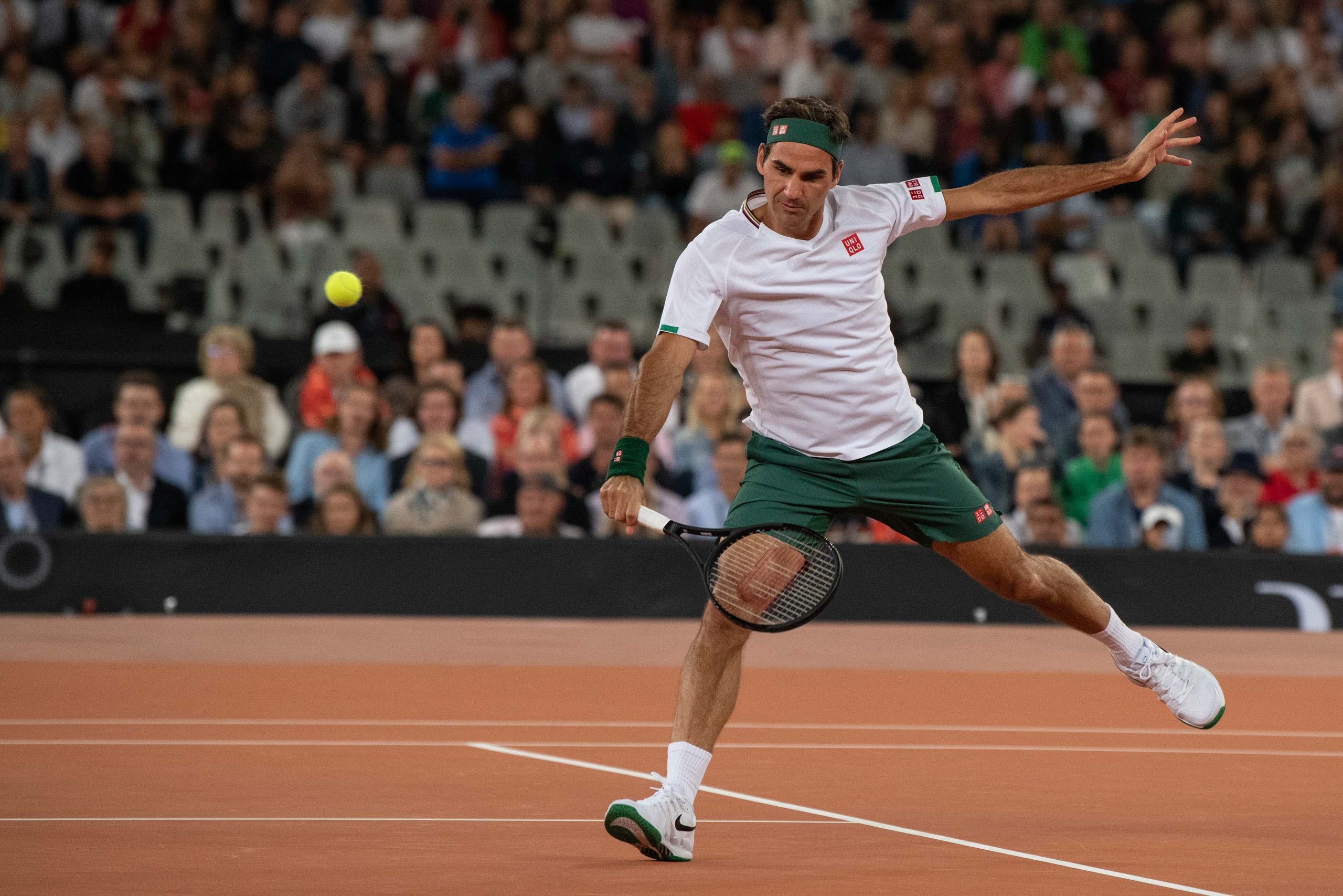 7 February 2020: The proceeds from the event all went to the Roger Federer Foundation in support of rural education in Southern Africa.