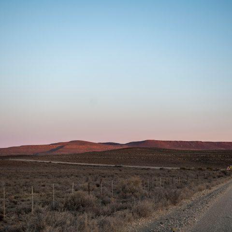 The arid landscape around Fraserburg.
