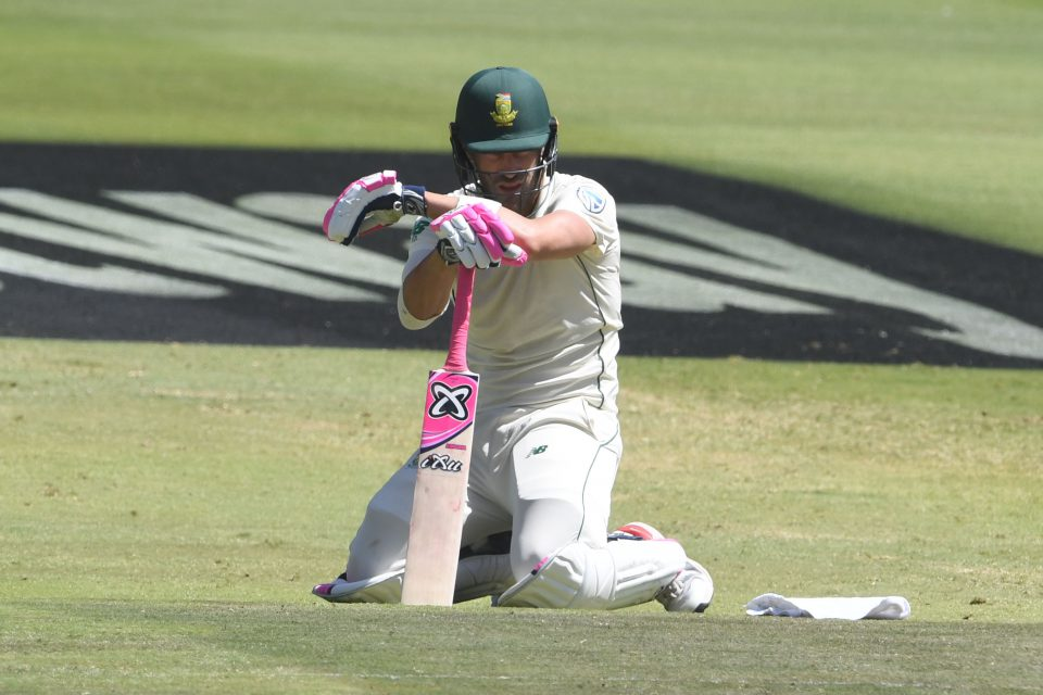 27 January 2020: Proteas captain Faf du Plessis during the fourth and final Test of the series against England at the Wanderers Stadium in Johannesburg. England won by 191 runs.