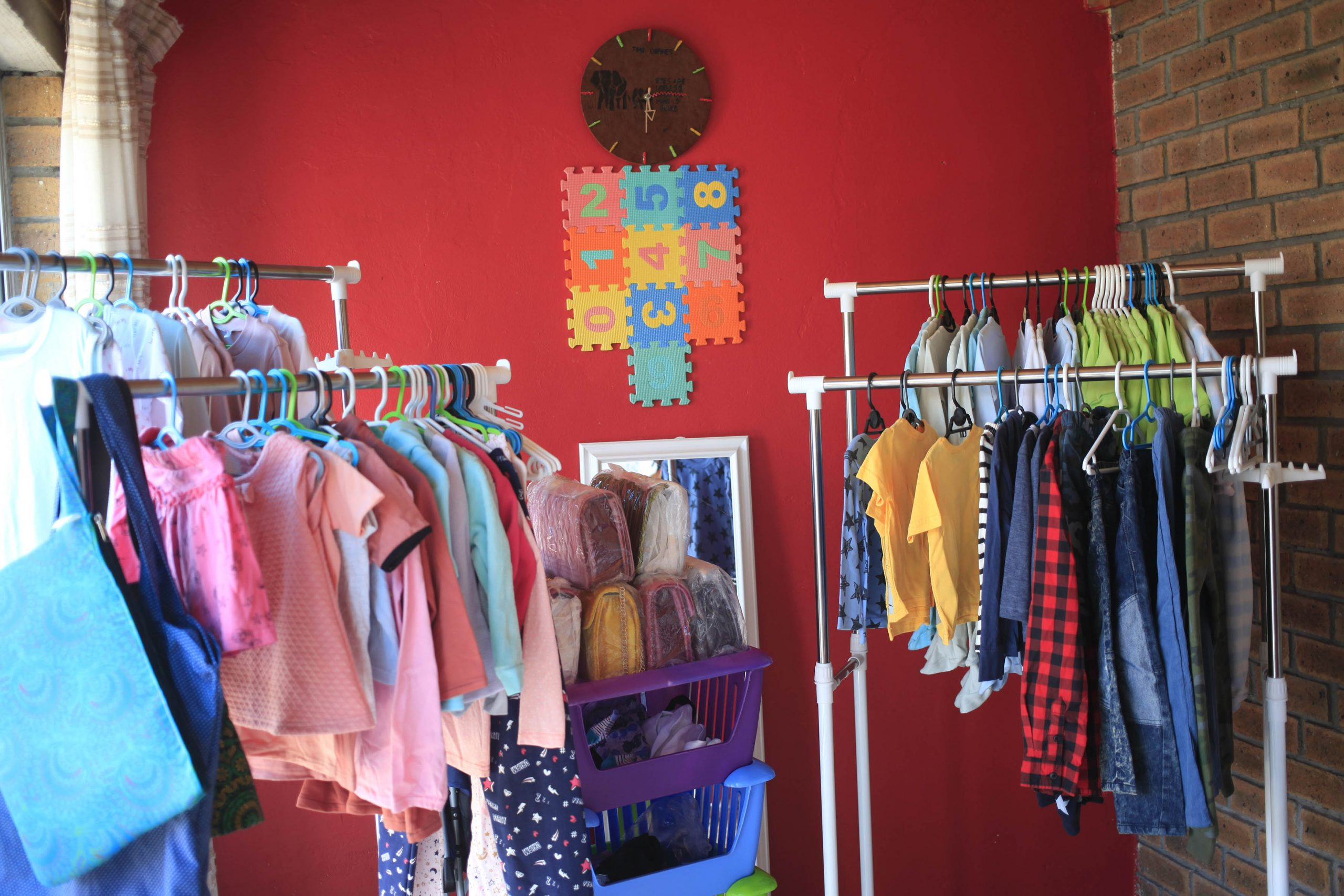 3 February 2020: Baby Friendly hires out some of the merchandise that children grow out of quickly.