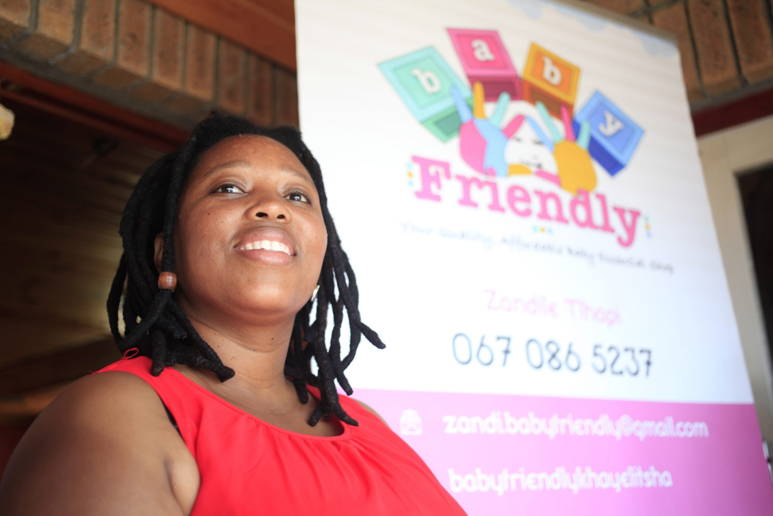 3 February 2020: When Zandile Tlhapi was pregnant with her second child, she was inspired to supply cheap, quality clothing and toys to her community.