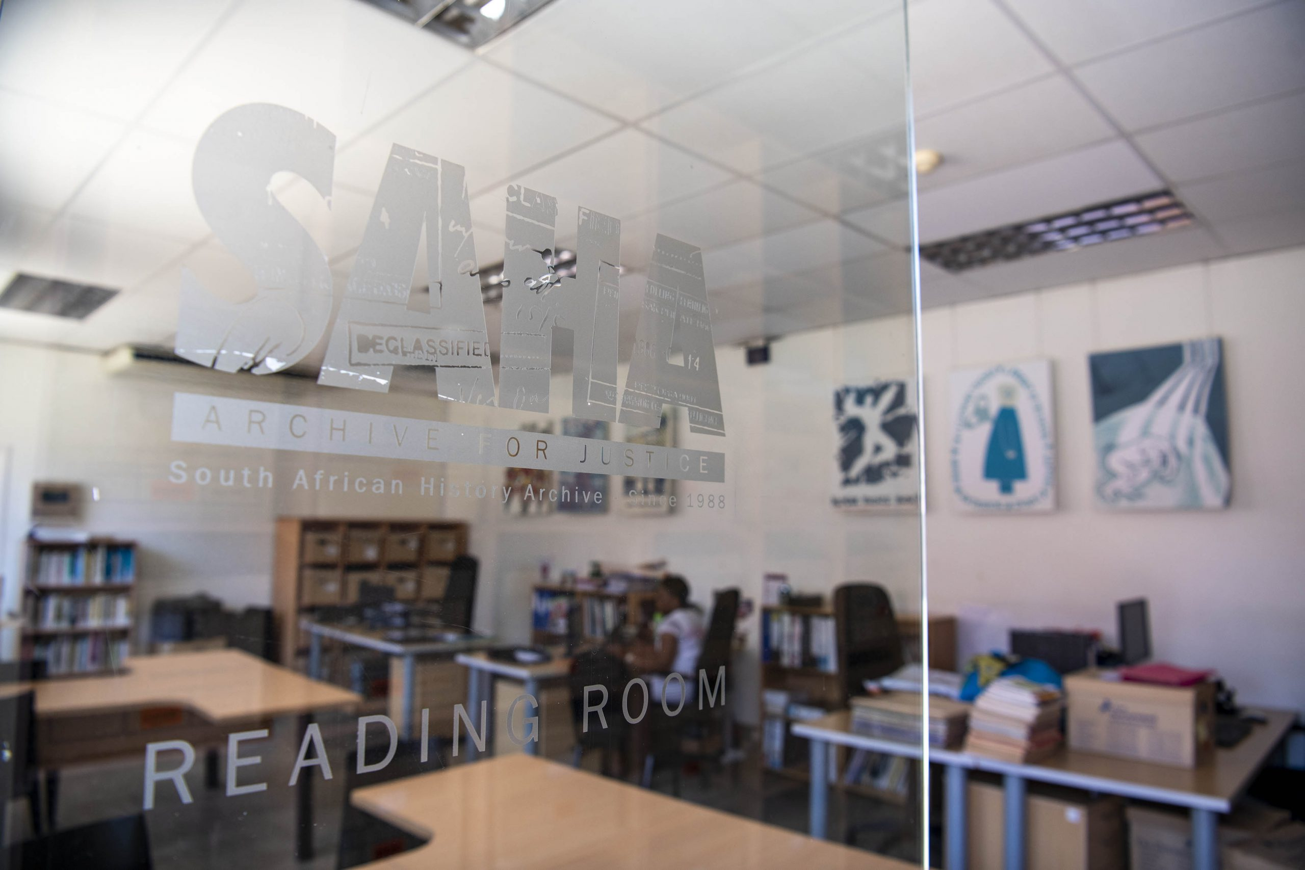 3 February 2020: The reading room at the South African History Archive is open to the public by appointment. The institution attempts to release information it feels is in the public interest, including records withheld by the private and public sector.