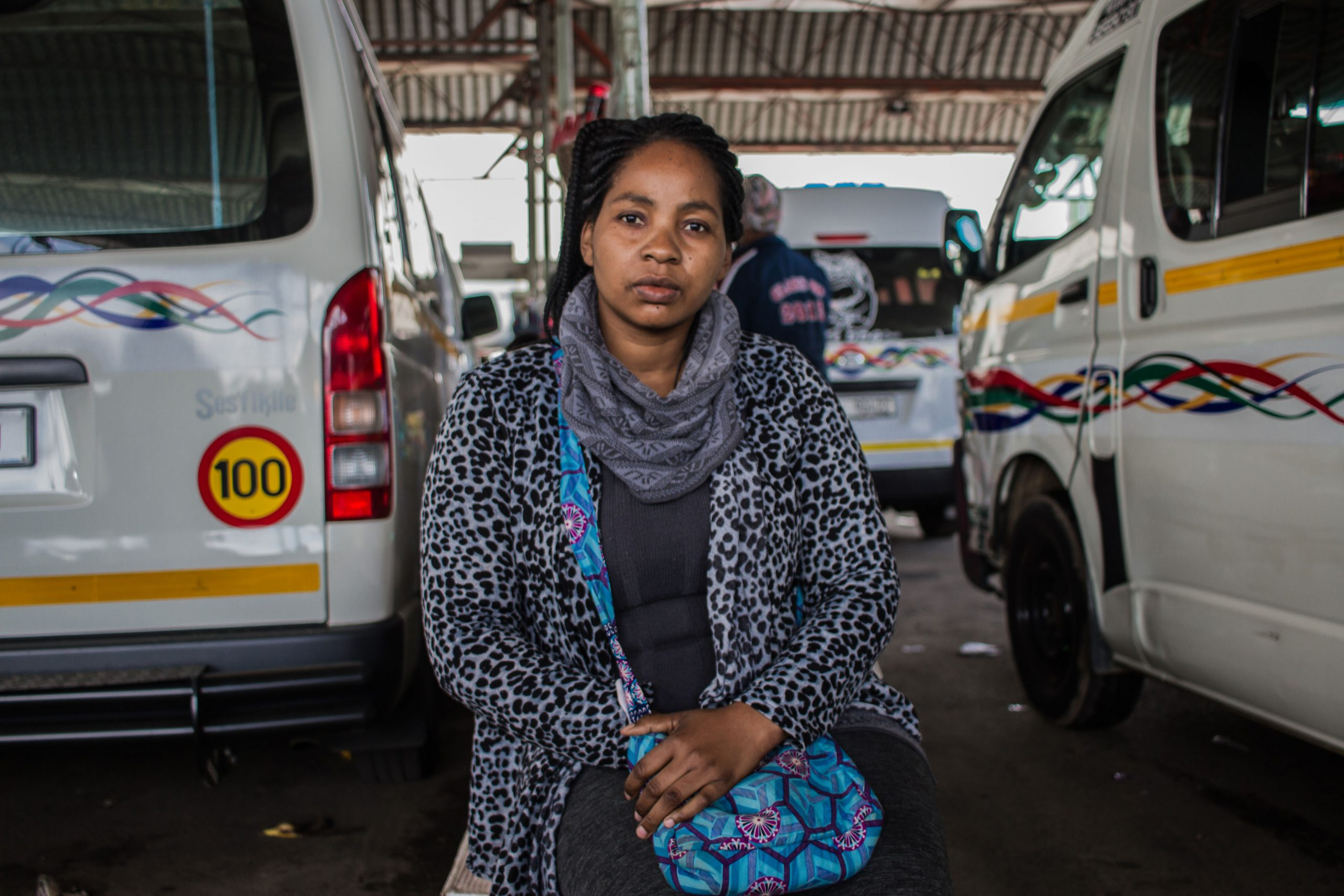 18 November 2019: Vendors are a common sight at taxi ranks. Samantha Manafi says her success depends on maintaining a good relationship with both commuters and drivers.