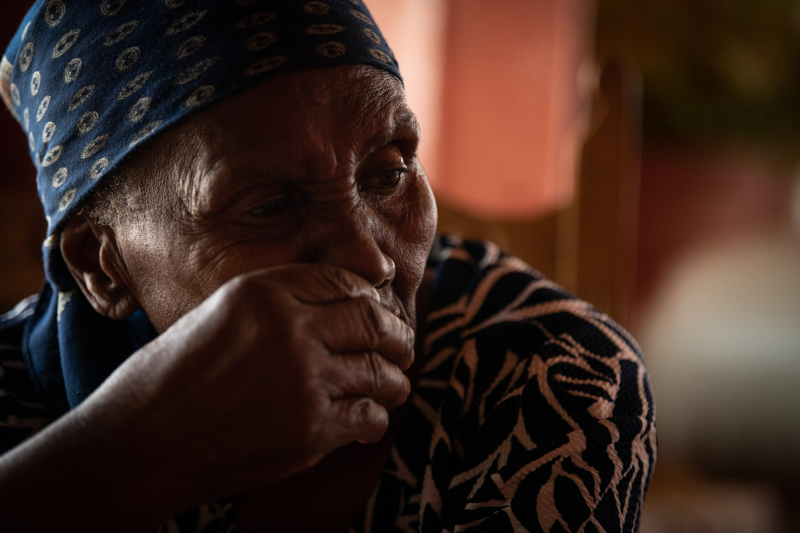 3 December 2019: Catherine Hlatshwayo has lived in the house in Mamelodi near her brother's final resting place for decades.