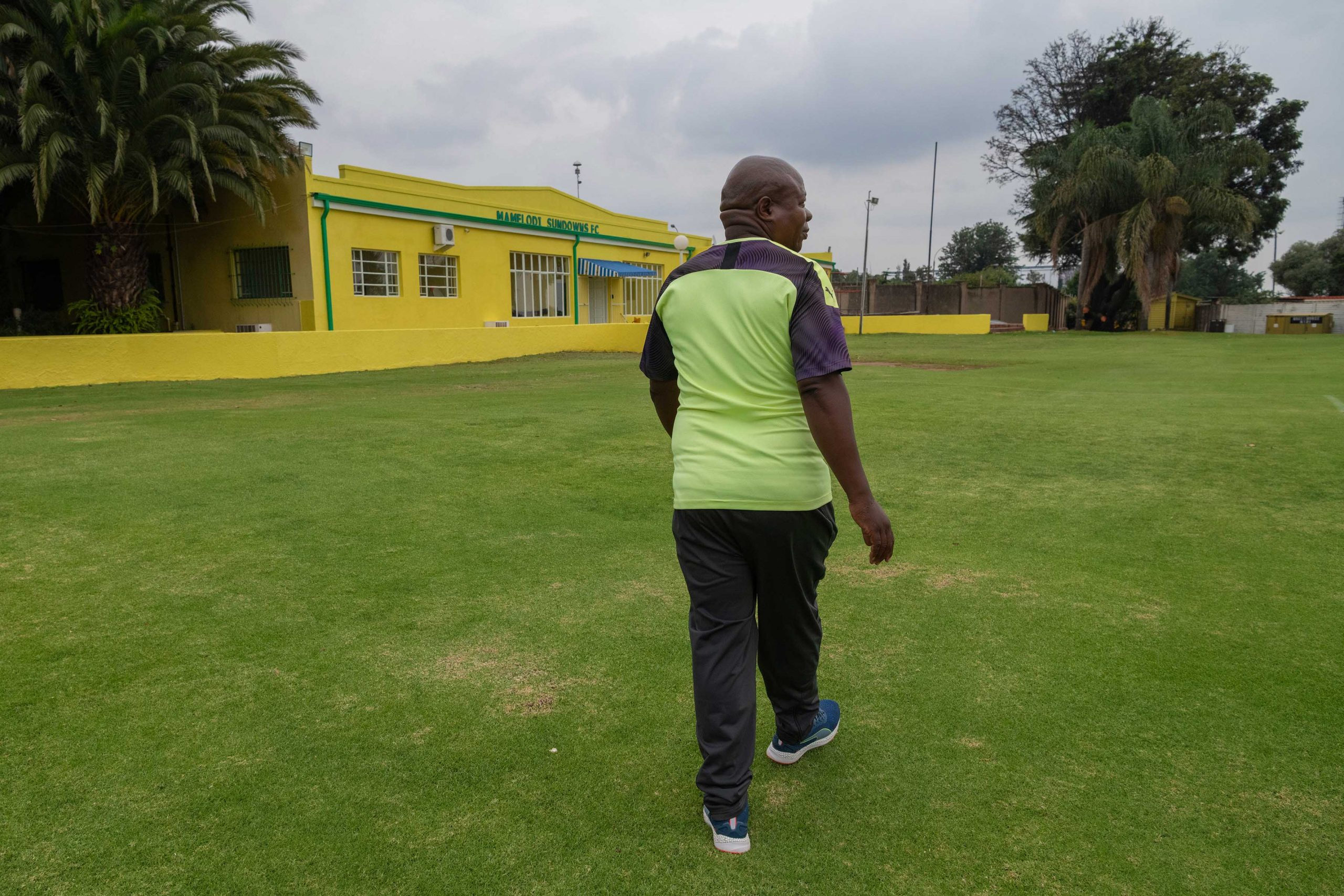 20 February 2020: Freddy Zungu at the Sundowns training facility in Chloorkop.