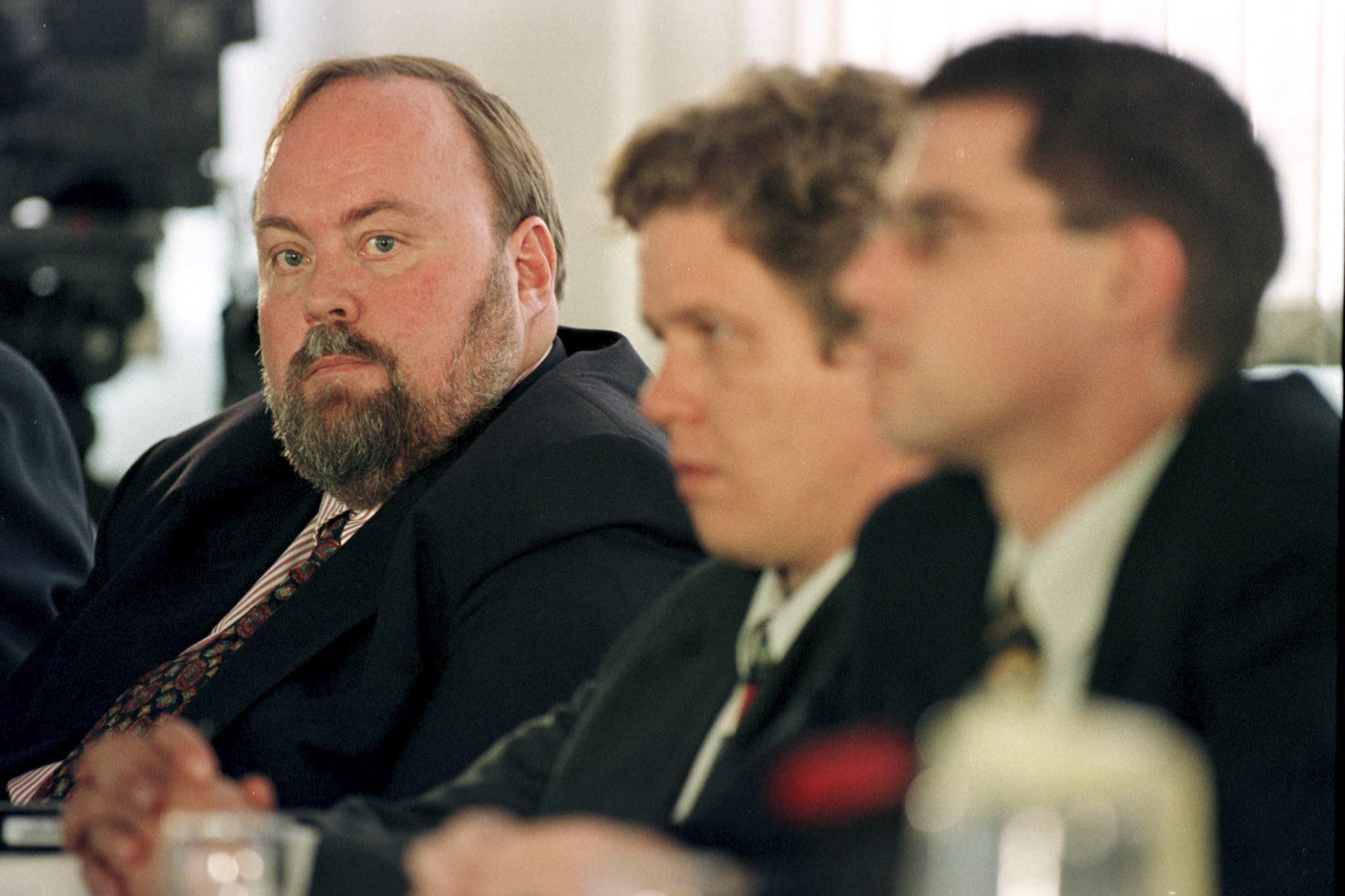 8 September 1998: Apartheid spy Craig Williamson sought amnesty through the Truth and Reconciliation Commission for bombing the ANC's London offices in 1982. (Photograph by Reuters)
