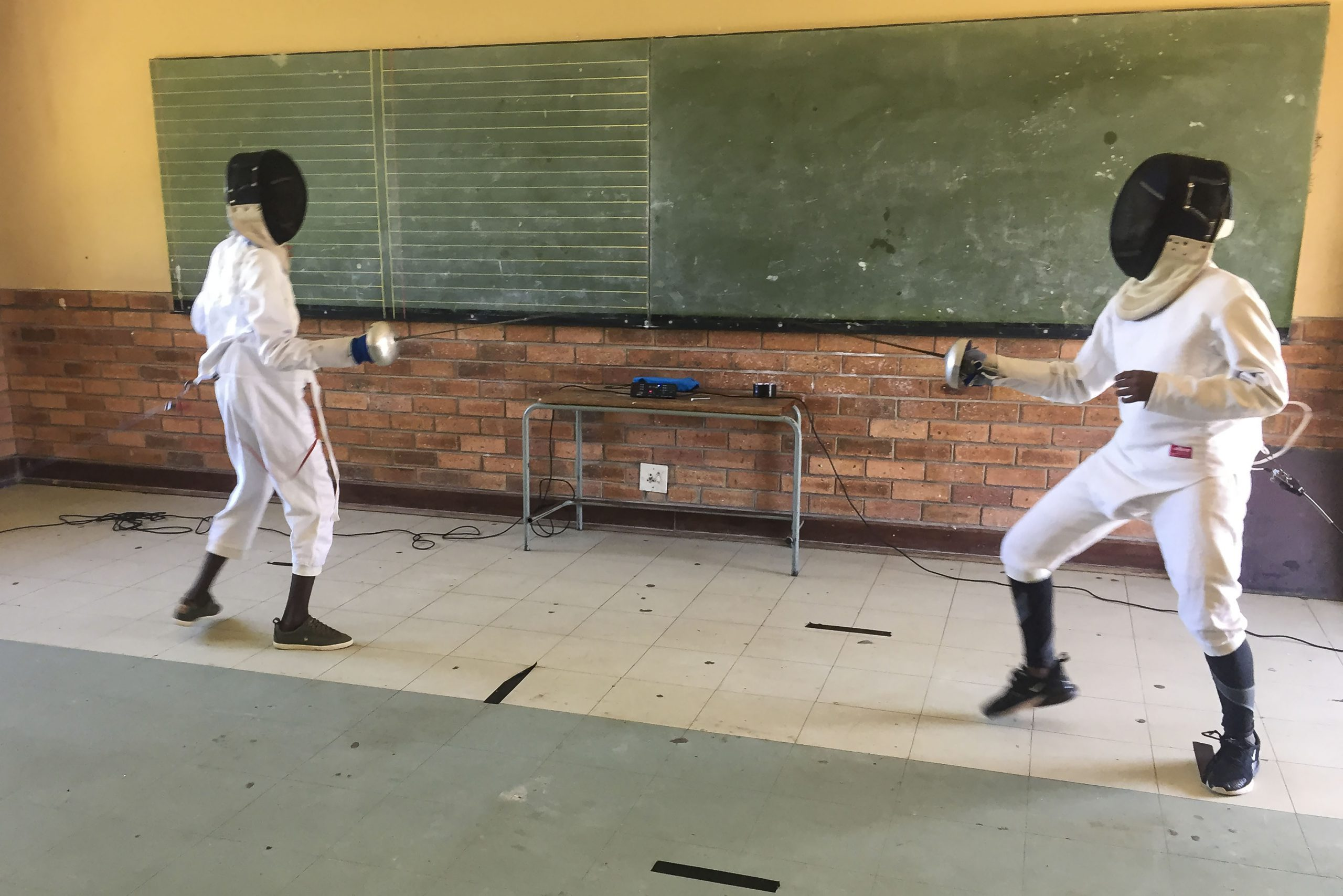 9 February 2020: The team members are training hard for the championships in Bloemfontein in July. (Photograph by Anna Majavu)