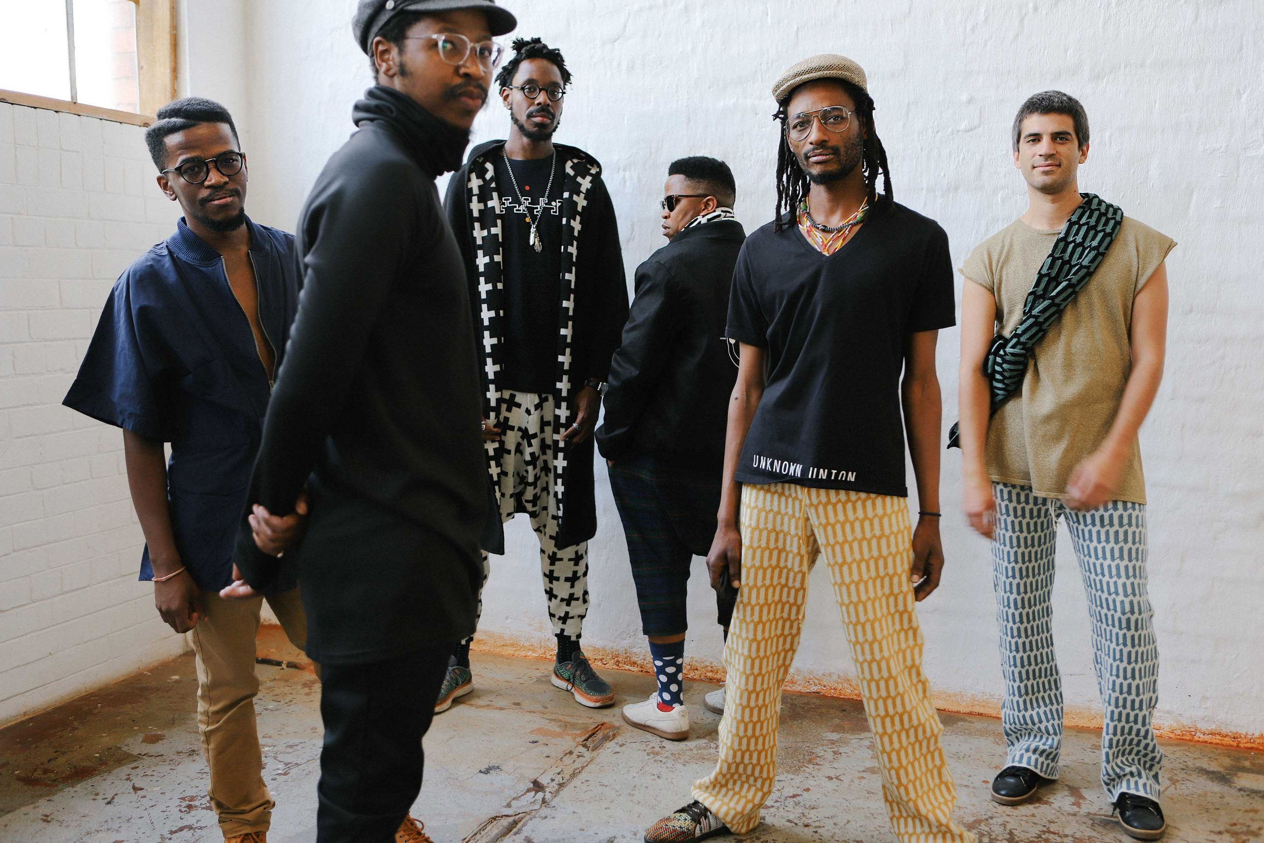 Shabaka and The Ancestors is a cross-continental octet featuring mainly South Africa-based jazz musicians. (Photograph by Tjaša Gnezda)