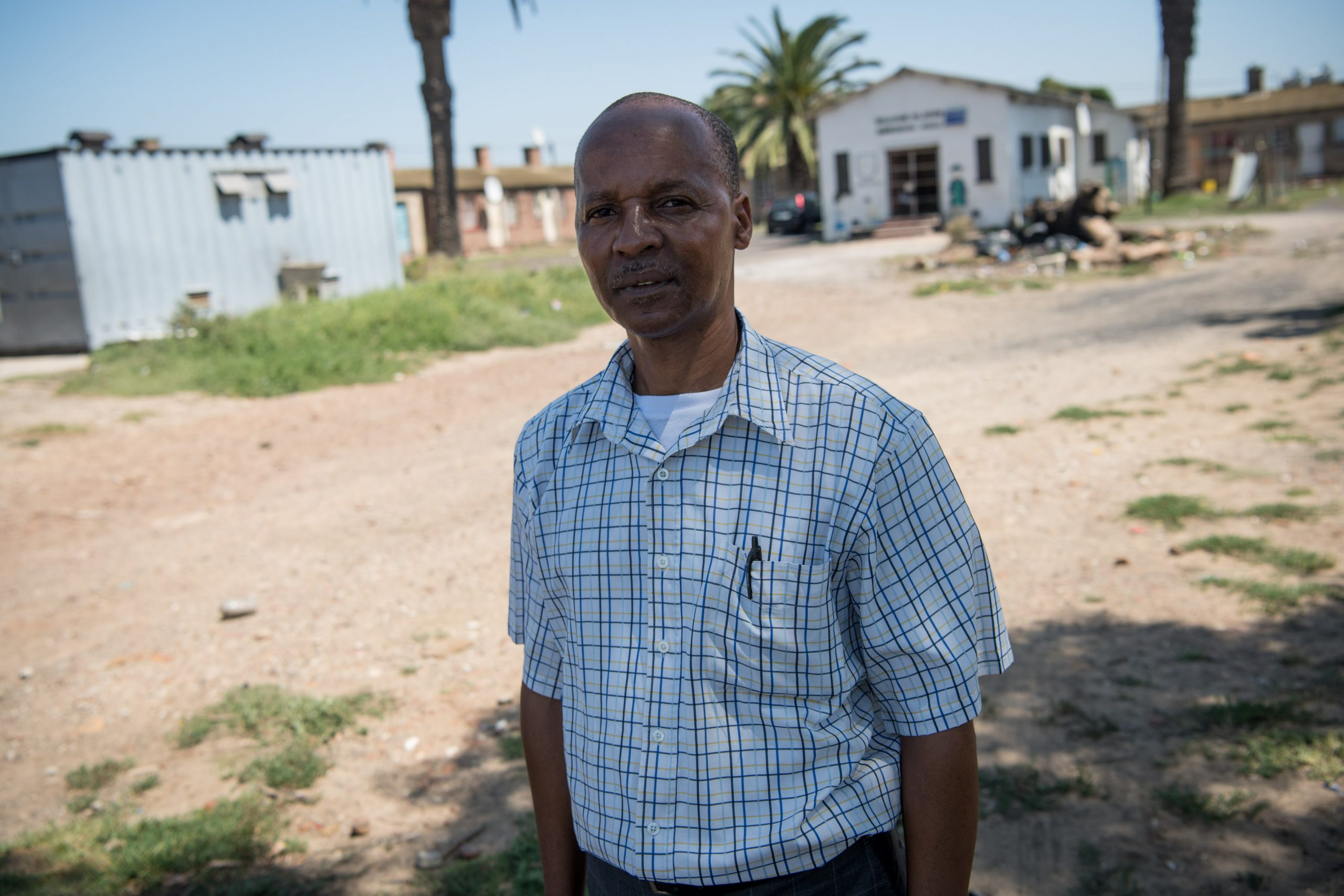3 February 2020: Vuyani Dyantyi has been campaigning to get the homes fixed for years, despite no longer being the ANC ward councillor for the area.