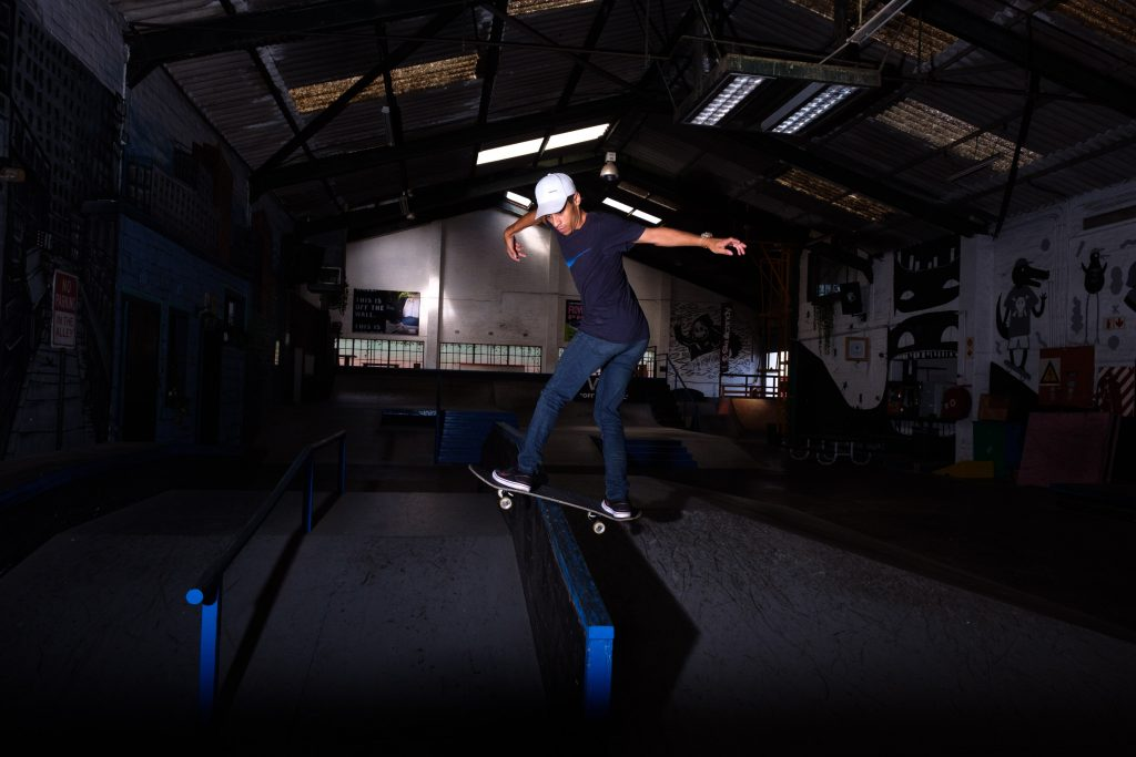 20 February 2020: Chronic asthma prevented Jean-marc Johannes from taking part in more traditional sports at school, so his physical education teacher suggested skateboarding instead.