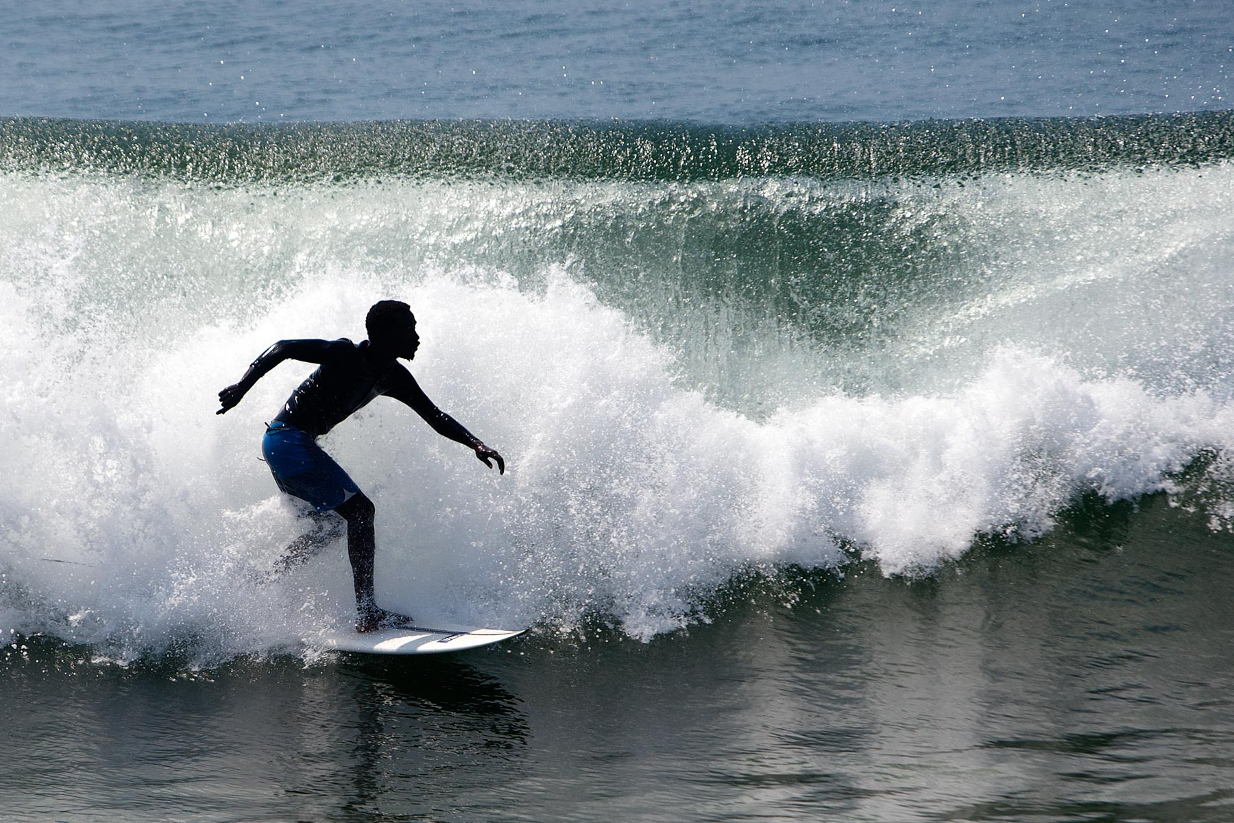 10 March 2020: Surfing has provided Avuyile Ndamase the opportunity to travel the world.