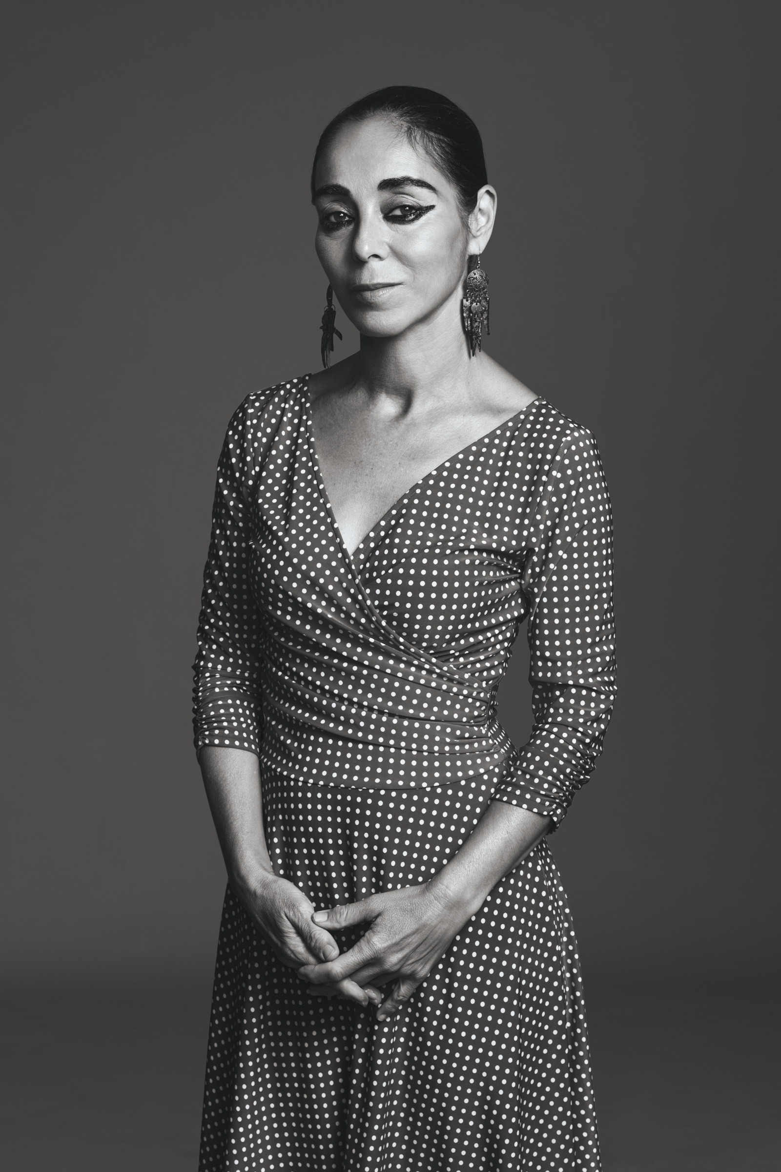 Undated: Iranian storyteller Shirin Neshat. (Photograph by Rodolfo Martinez/ Goodman Gallery)
