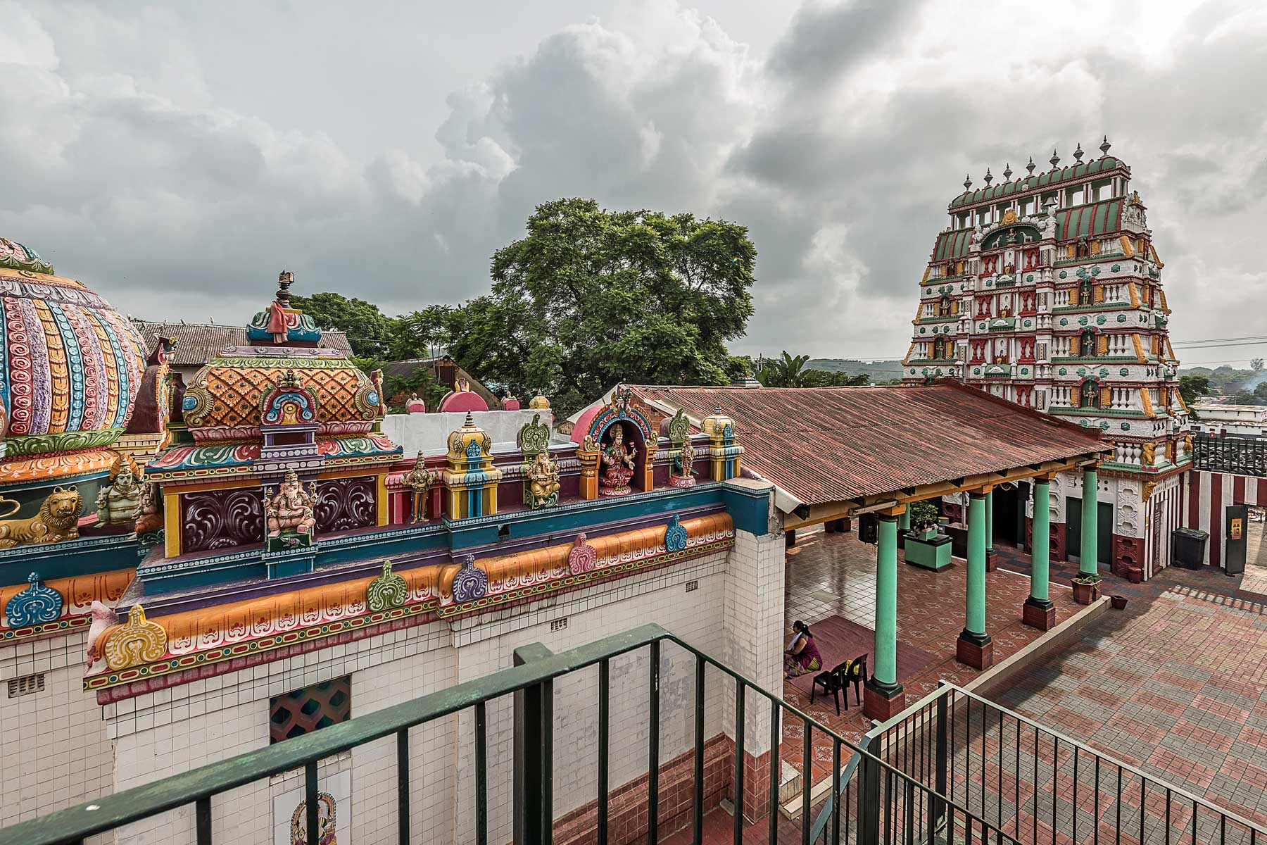 Undated: The temple is dedicated to the supreme being or Brahman in the form of the divine mother Mariamman (the rain goddess), also known as Shakthi, Devi, Durga, Kali or Parvathy.