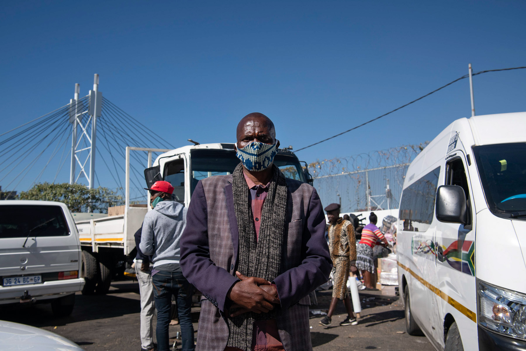 30 May 2020: Howard Thwala is a coordinator for the Zimbabwe International Long-Distance Taxi Association. Lockdown has meant only trucks, which are slower and more expensive than taxis, can cross the border.