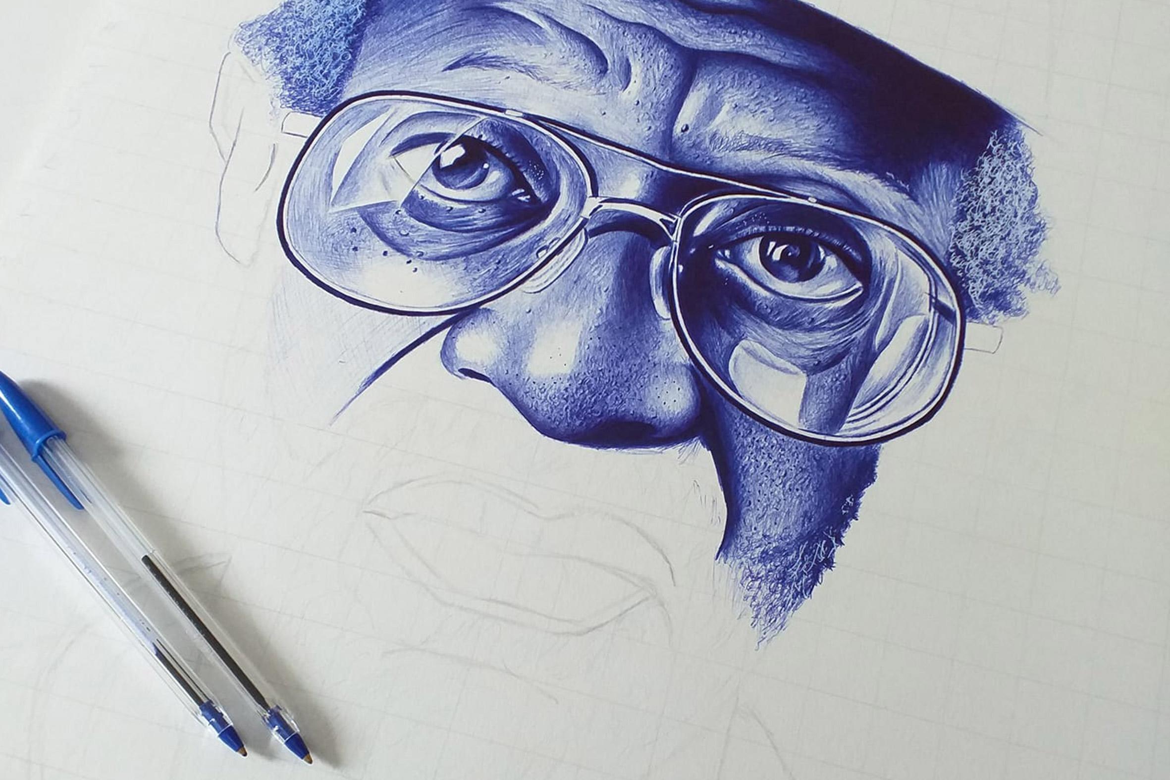 Zwelakhe Ngobese S Hyperreal Pen Art New Frame