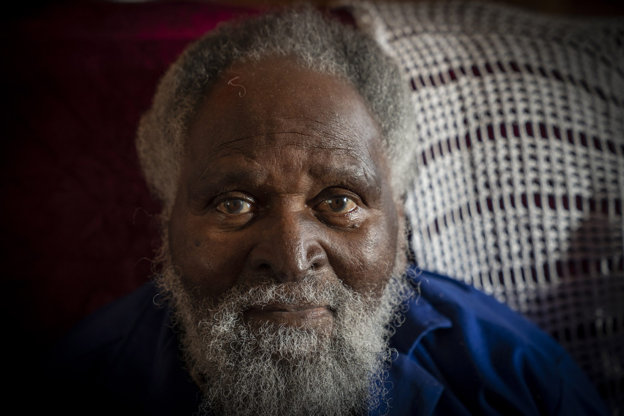 1 July 2019: Mongezi Madinda is in his 90s. The 1820 settlers forced his grandfather off his land to build the Salem Academy.