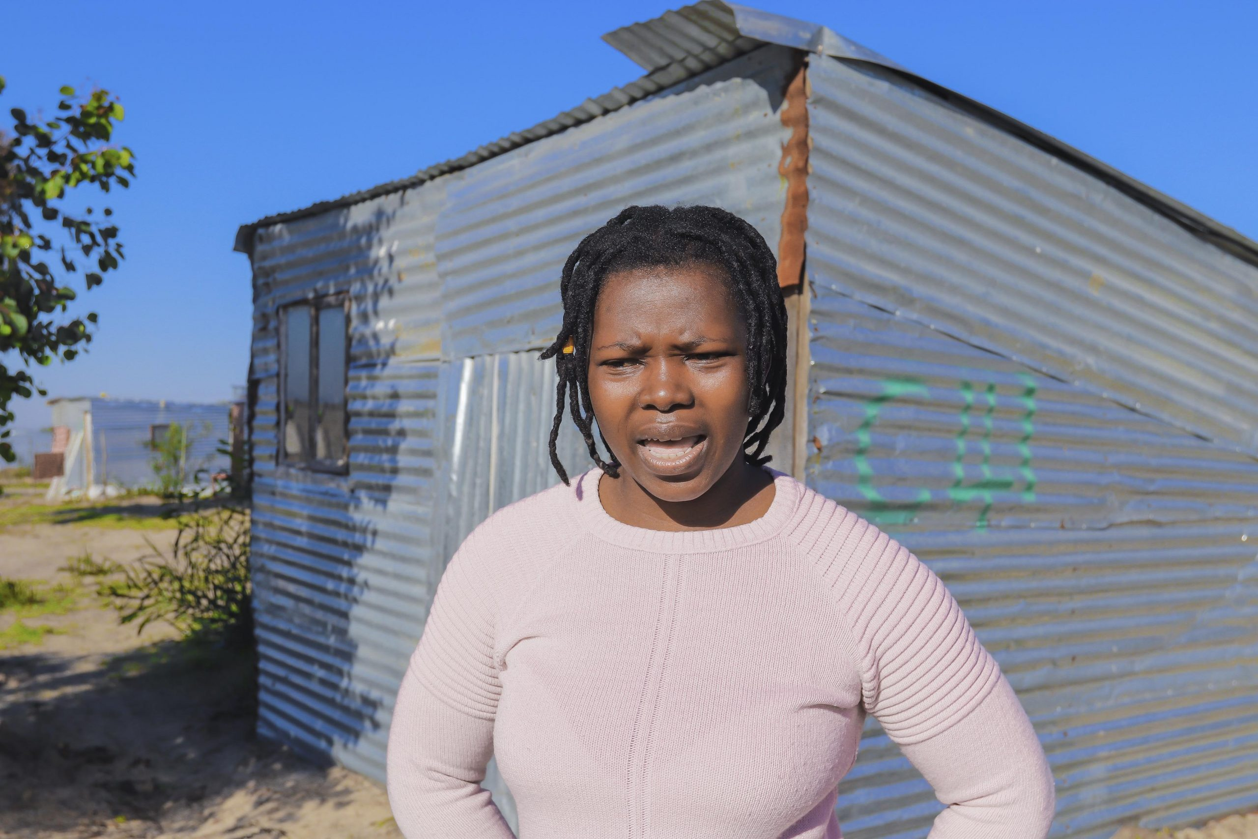 23 July 2020: Nomawethu Nciwa says she was slapped and kicked while being arrested on 16 July.