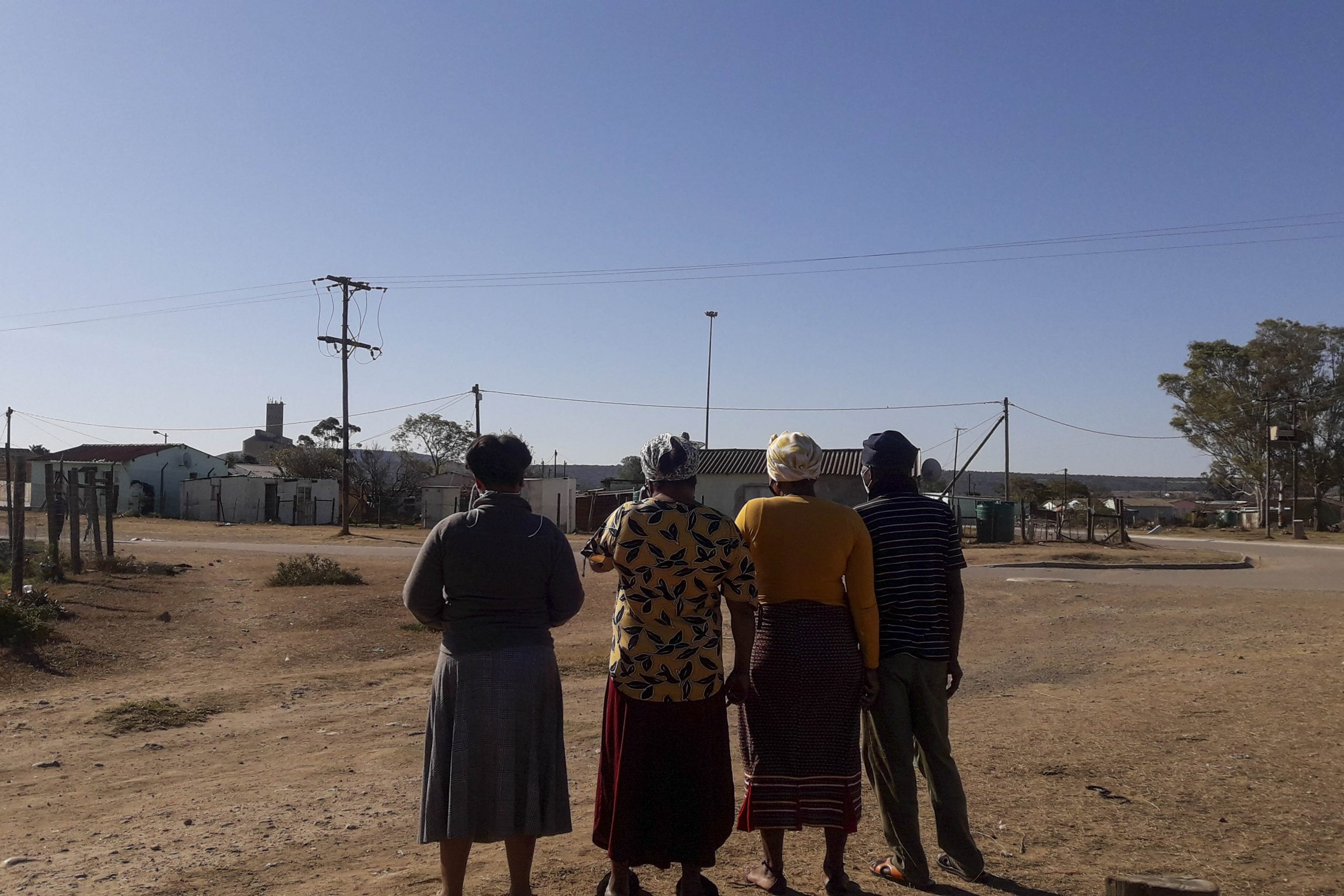 23 July 2020: These workers from the Schotia Safaris Private Game Reserve were all sent home at the beginning of lockdown and do not know when they will be called back to work.