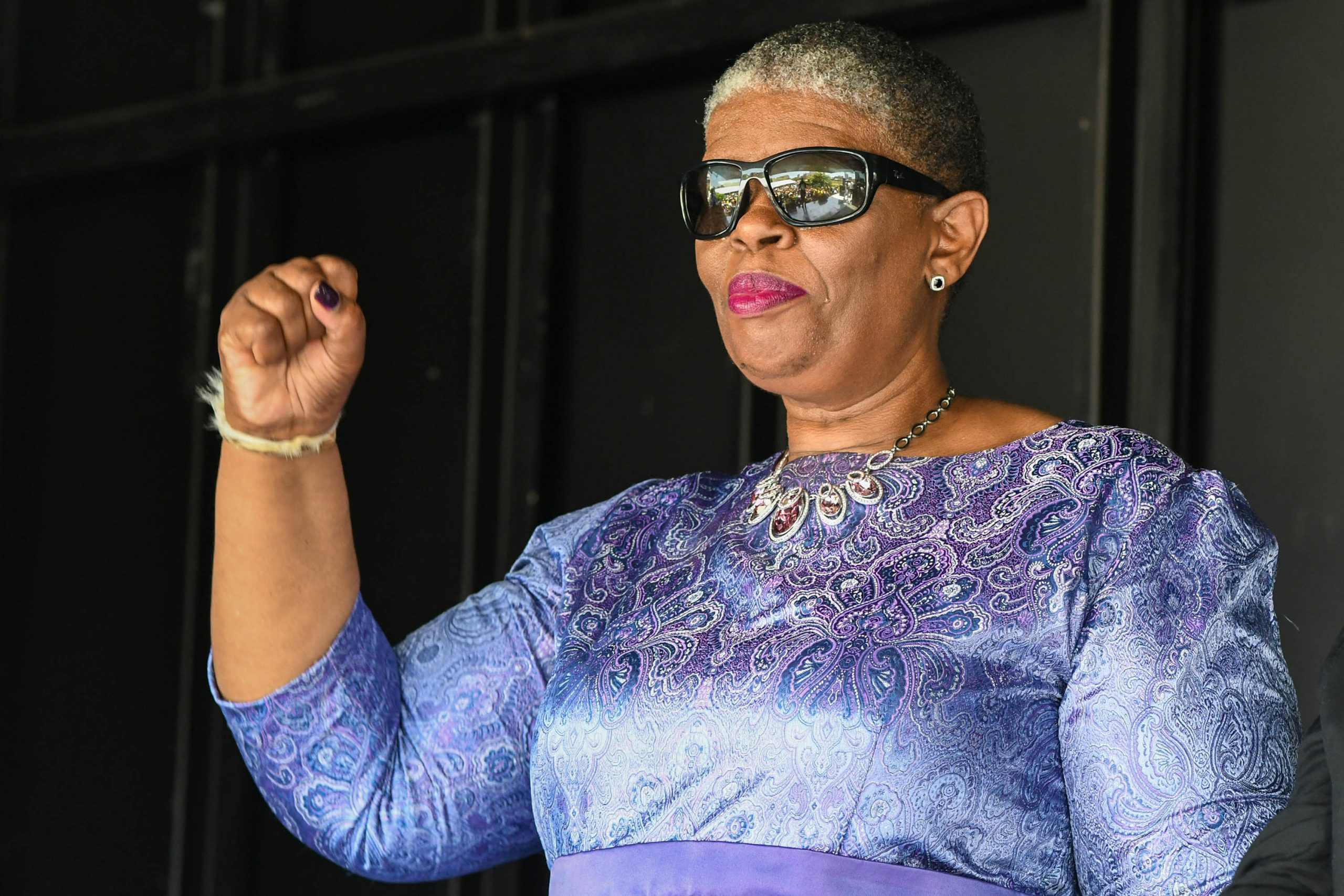 15 January 2020: Former eThekwini Mayor Zandile Gumede appears at the Durban Commercial Crimes Court on corruption charges. Despite that, she has been appointed to the KwaZulu-Natal Legislature. (Photograph by Gallo Images/ Darren Stewart)