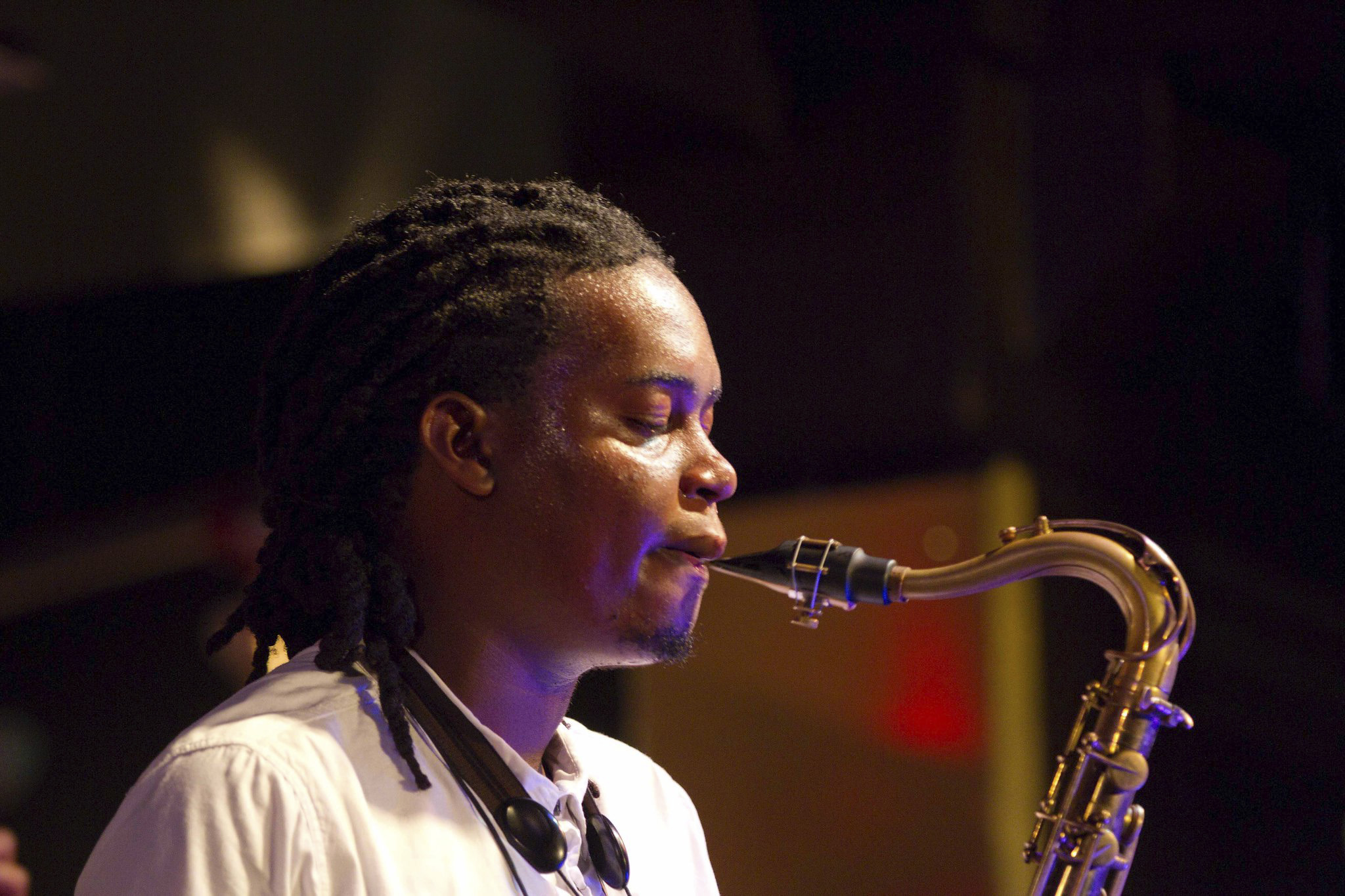 Undated: Saxophonist and composer Linda Sikhakhane. (Photograph supplied)