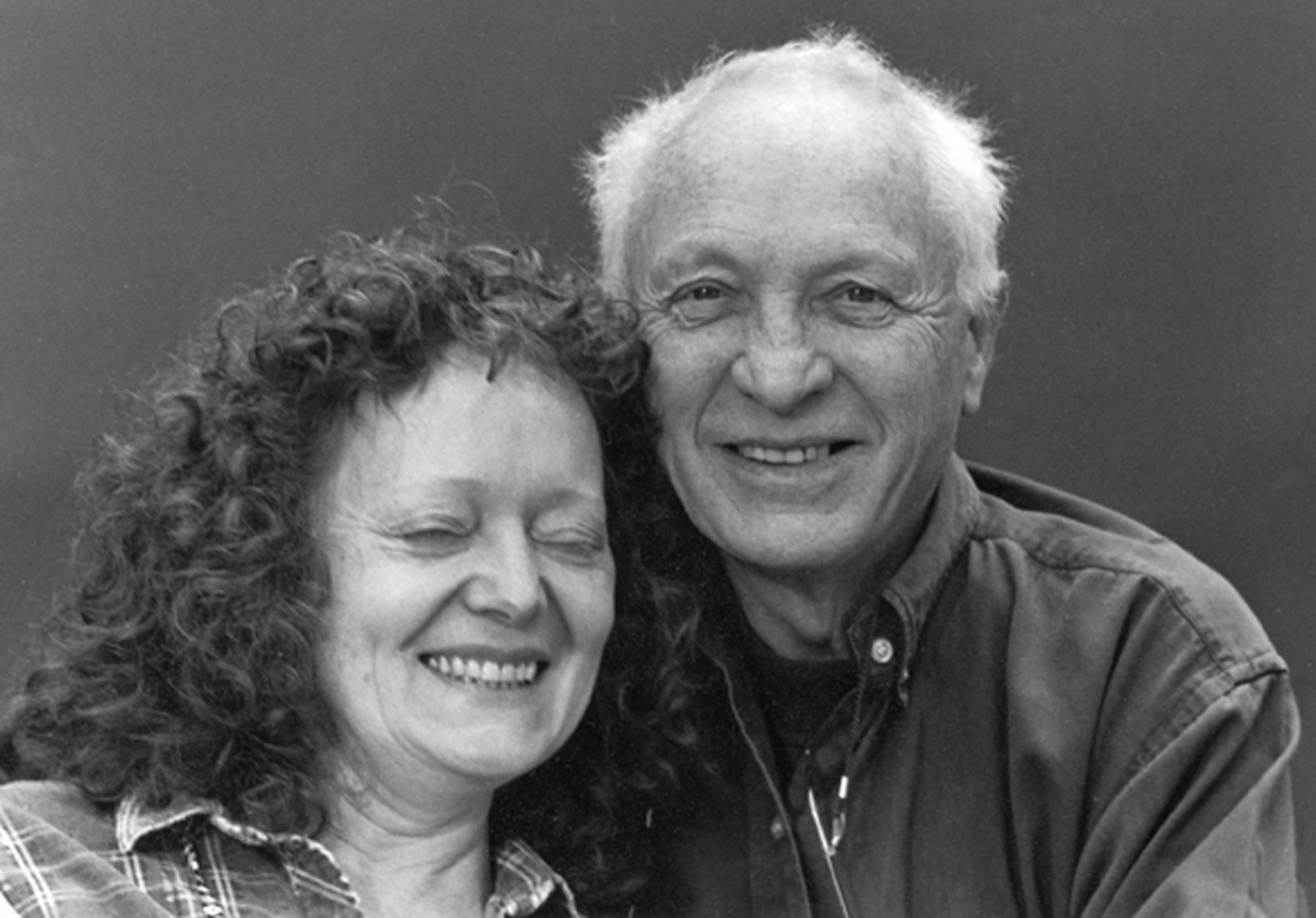 Undated: Jürgen Schadeberg with his wife Claudia. (Photograph courtesy of the Jürgen Schadeberg estate)