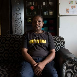 1 February 2020: Petros Mapapa at home in Thembalethu, George. Photograph by Daylin Paul