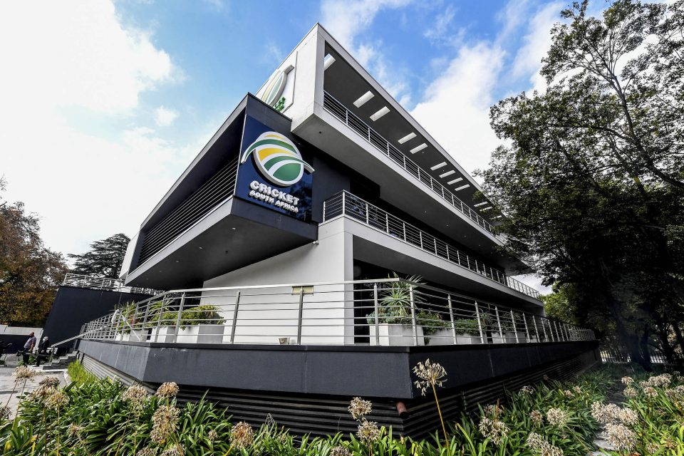 30 April 2021: The Cricket South Africa offices in Johannesburg at which Nathi Mthethwa and Cricket South Africa leaders held a press conference to announce the amended memorandum of incorporation. (Photograph by Sydney Seshibedi/ Gallo Images)